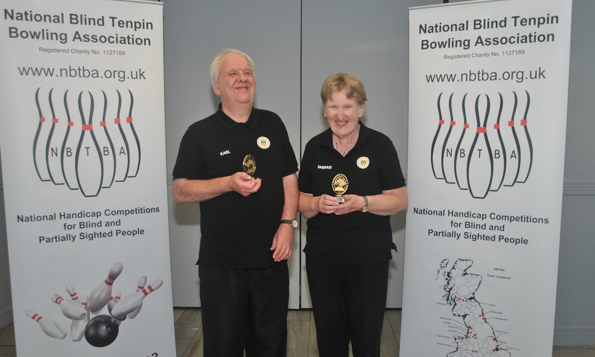 National Blind Tenpin Bowling          Association